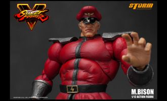 STORM COLLECTIBLES STREET FIGHTER V M. BISON 1/12 ACTION FIGURE