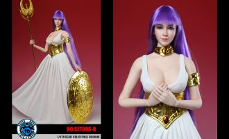 SUPER DUCK 1/6 SAINT SEIYA ATHENA SET006-B