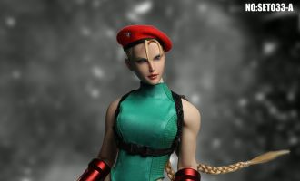 SUPER DUCK SET033A Street Fighter Cammy White Cosplay
