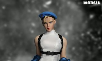 SUPER DUCK SET033B STREET FIGHTER Cammy White Cosplay