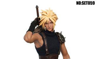 SUPER DUCK SET059 Cloud Strife Final Fantasy VII Fantasy Mercenary BANNER