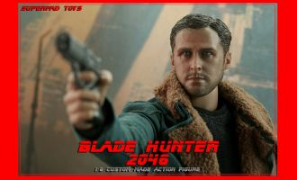 Supermad Toys Blade Runner 2049 Agent K Ryan Gosling Hunter K Action Figure
