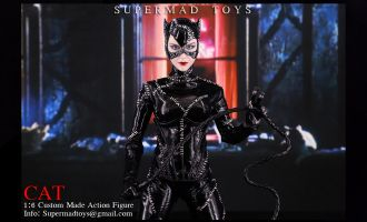 SUPERMAD TOYS BATMAN RETURN CATWOMAN SELINA KYLE CAT CUSTOM MADE LIMITED EDITION