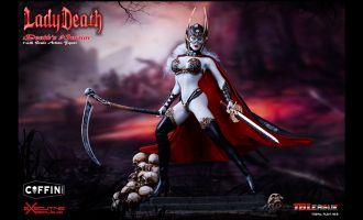 TBLeague-PL2017-104B-Lady-Death-Death's-Warrior-V2-Action-Figure-only
