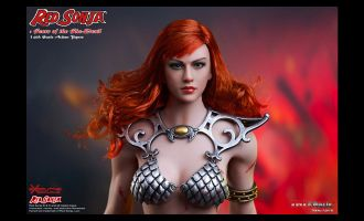 TBLEAGUE PL2016-93 RED SONJA SCARS OF THE SHE DEVIL