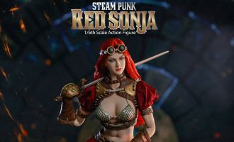 TBLEAGUE PL2019-140-B Red Sonja Action Figure 1/6 Steampunk Red Sonja Classic Deluxe Banner