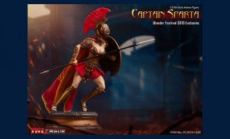 TBLeague PL2019-143B Wonder Festival 2019 Captain Sparta Banner