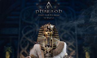 TBLeague PL2021-178B Pharaoh Tutankhamun 1/6 WHITE BANNER