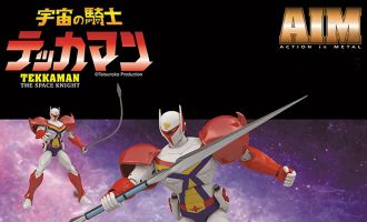 BU TOYS ACTION IN METAL TEKKAMAN THE SPACE KNIGHT