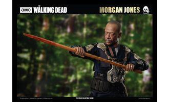 Threezero 3Z0099 The Walking Dead Action Figure 1/6 Morgan Jones Banner