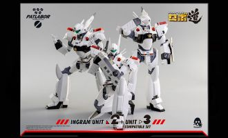 THREEZERO 3Z0107 PATLABOR ROBO DOU INGRAM UNIT 2+3 AF SET BANNER