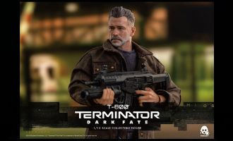 ThreeZero 3Z0152 Terminator Dark Fate T-800 Action Figure 1/12