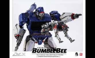 Threezero 3Z0160 Soundwave & Ravage Transformers Bumblebee DLX Action Figure 2-Pack Banner