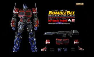 Threezero 3Z0162 Transformers Bumblebee PREMIUM Optimus Prime Diecast Metal Frame