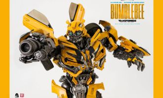 THREEZERO 3Z0164 Transformers The Last Knight DLX Action Figure 1/6 Bumblebee Banner
