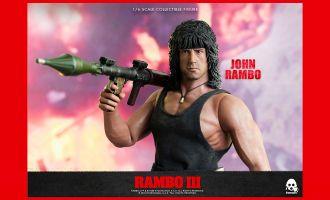 Threezero 3Z0169 Rambo III John Rambo Sylvester Stallone