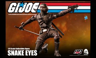 Threezero 3Z0215 Snake Eyes Gi Joe Banner