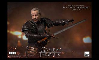 Threezero Game of Thrones Action Figure Ser Jorah Mormont Season 8 action figure banner
