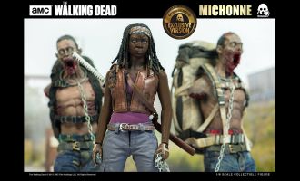 THREEZERO Michonne + Pet Walker Twin Pack 1/6TH EXCLUSIVE VERSION