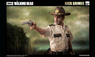 Threezero Rick Grimes Season 1 Andrew Lincoln The Walking Dead 1/6 Action Figure Banner