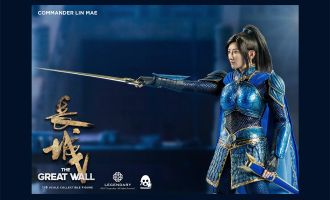 THREEZERO THE GREAT WALL COMMANDER LIN MAE