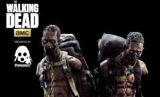 THREEZERO WD-ZG/WD-ZR PET WALKER TWIN PACK ZOMBIE 1/6TH