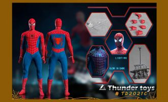 Thunder Toys TD2021C Variant Spider Deluxe Edition 1/6 figure Banner