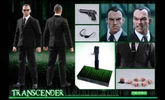Toys Works TW010 TRANSCENDER AGENT SMITH MATRIX BANNER
