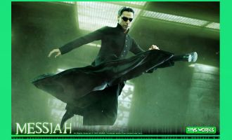 TOYS WORKS TX011 MATRIX NEO KEANU REEVES MESSIAH