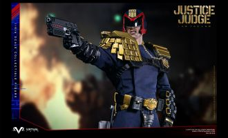 VIRTUAL TOYS VM023 JUDGE DREDD SYLVESTER STALLONE 1/6TH JUSTICE JUDGE