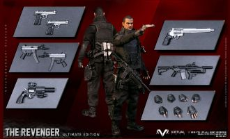 VTS TOYS VM-027 THE PUNISHER THE REVENGER ULTIMATE EDITION