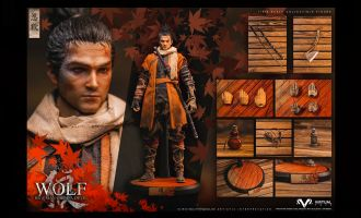 VTS TOYS VM-030 Sekiro The wolf of Ashina Normal Edition Banner