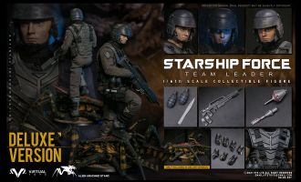 VTS TOYS VM037DX Starship Force-Team Leader Deluxe Version Starship Troopers Banner