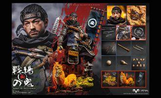 VTSTOYS VM-036B Jin Sakai Ghost of Battlefield Collector's Edition Ghost of Tsushima Banner