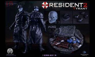WAR STORY 1/6 WS007A RESIDENT EVIL 2 TYRANT SET BANNER