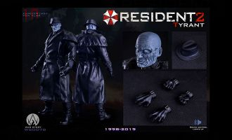WAR STORY 1/6 WS007B RESIDENT EVIL 2 TYRANT INDIVIDUAL BANNER