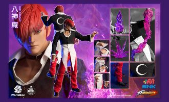 WorldBox KF099 The King Of Fighters Iori Yagami Collectible Figure Banner