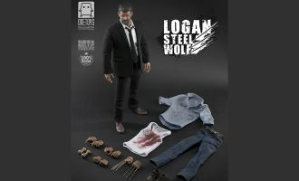 WORLD BOX X ONETOYS B FIGHTING VERSION LOGAN THE WOLVERINE LOGAN STEEL WOLF