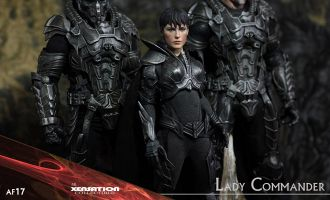 XENSATION AF17 MAN OF STEEL SUPERMAN LADY COMMANDO Antje Traue as Faora-Ul