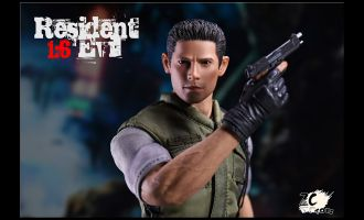 ZC-TOYS-ZC003-RESIDENT-EVIL-Chris-Redfield-ZOMBIE-POLICE-OFFICER