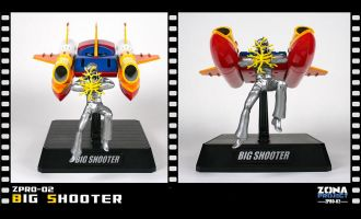 ZPRO ZPRO-02 Kotetsu Jeeg, Jeeg Robot d'Acciaio, Big Shooter, Big Shooter Zona Project