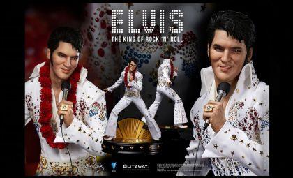 Blitzway BW-SS-20701 Elvis Presley Superb Scale Hybrid Statue 1/4 Elvis Aaron Presley