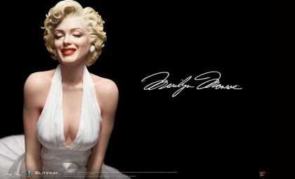 Blitzway BW-SS-20801 Marilyn Monroe The Estate of Marilyn Monroe Banner