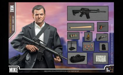 CCTOYS, GTA, Mike, Los Santos Version, Mike GTA Los Santos Version action figures Banner