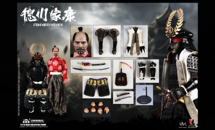 COOMODEL SE085 SERIES OF EMPIRES DIECAST ALLOY SHOGUN TOKUGAWA IEYASU STANDARD VERSION BANNER