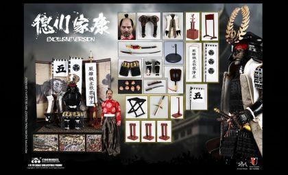 COOMODEL SE086 SERIES OF EMPIRES DIECAST ALLOY SHOGUN TOKUGAWA IEYASU EXCLUSIVE VERSION Banner
