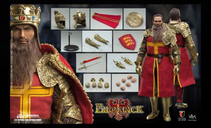 COOMODEL SE108 SERIES OF EMPIRES FRIEDRICH I EXCLUSIVE COPPER VERSION BANNER