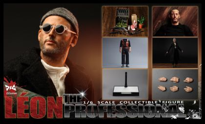 DJ-CUSTOM DJ-16001U Leon Jean Reno as Leon The Profession Upgraded Version Banner