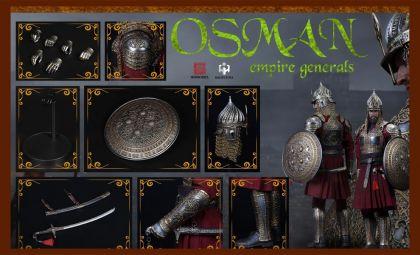 HHMODEL x HAOYUTOYS HH18043  Empire Series-General of the Ottoman Empire Banner