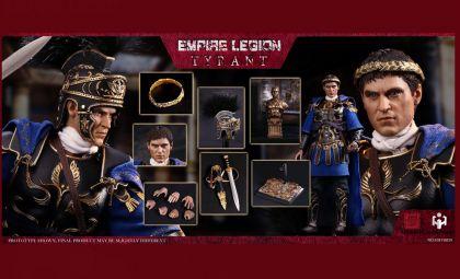 HHmodel x HaoYuTOYS HH18039 Commodo Imperial Legion-Tyrant Black Gold Deluxe Edition Banner
